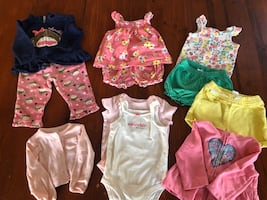 Size 9 months baby girl clothing