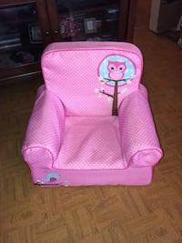 Pink Owl Toddler Chair