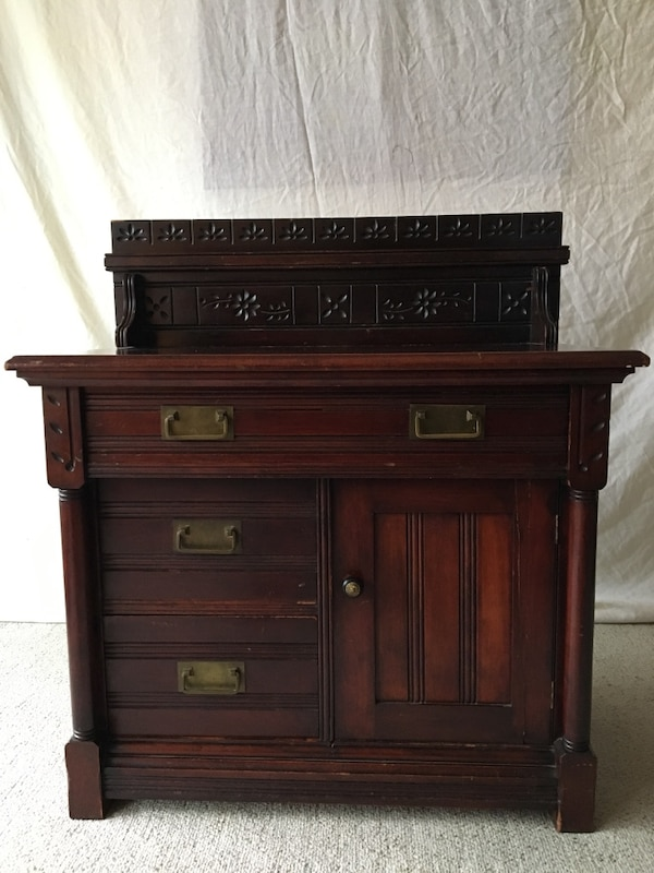 """150 year old Antique """"Canadiana"""" Commode"""