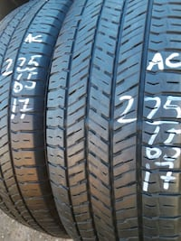 225/65-17 #2 tires  Springfield, 22153