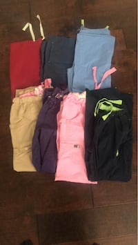 four assorted color pants and shorts Riverside, 92508