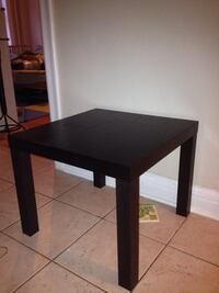 square black wooden side table Westmount, H3Z 2G3