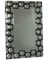 Rectangular Mirror With Frame