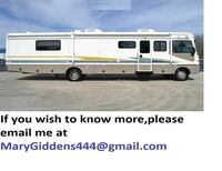 fully furnished 2003 Fleetwood Bounder for sale