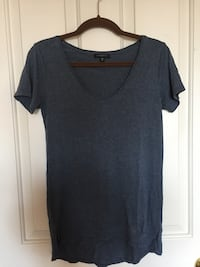 gray scoop neck shirt Surrey