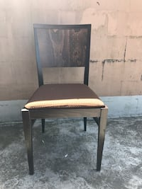 Brown wooden table and four chairs  Surrey, V3T 5W2