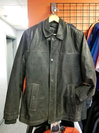 NEW Mens Leather Jacket