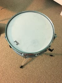 "USED PEARL STEEL SHELL SNARE SNARE DRUM 14"" 21 km"