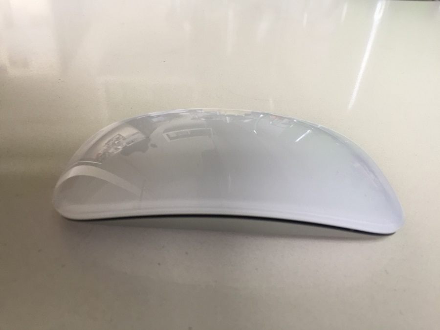 white apple magic mouse - CA