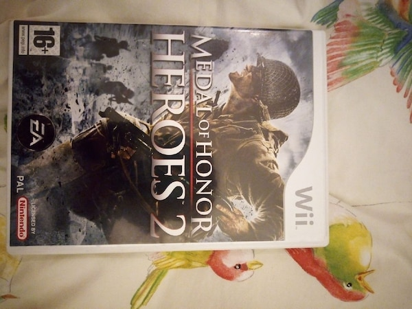 Jeu wii medal of honor