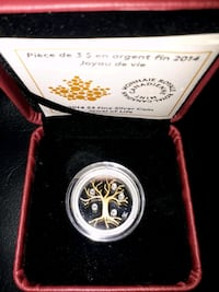 "Pure Siver Coin  -  "" Tree of Life "" London, N6B 1E1"
