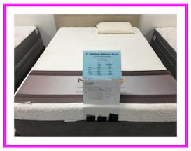 Twin size Memory Foam mattress set brand new in plastic