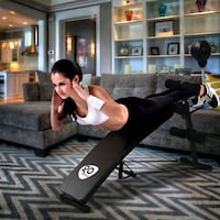 Sit Up Bench Inclined Adjustabel Work Out Home Gym Exercise