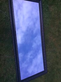 Huge 6 foot mirror with frame