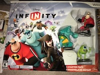 Wii Disney Infinity Starter Pack plus Extra Characters Markham, L6E 1E7