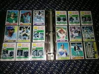 assorted baseball player trading cards Phoenix, 85017
