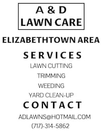 Lawn Care Service Mount Joy