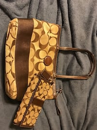 Coach Purse and matching wallet