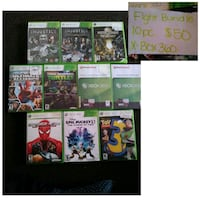 Xbox 360 game case lot Romeoville, 60446
