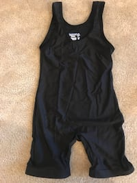 Black Adult Small Wrestling Singlet  Aldie, 20105