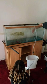 55 inch Tank with stand.  Woodbridge, 22193