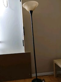 black and white torchiere lamp Toronto, M3A 2X5