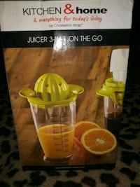 Juicer 3 in 1 On The Go Land O' Lakes, 34639