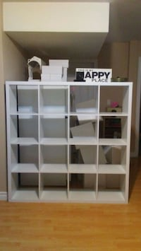 White  Shelving  ,5ft x 5ft,  Can be Dismantled Surrey, V3S 3T1