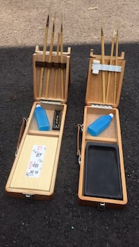 Japanese Sumi painting sets Howell