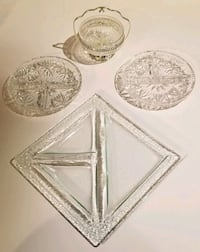 Crystal Serving Trays for Sale in Toronto Toronto, M1H 2P7