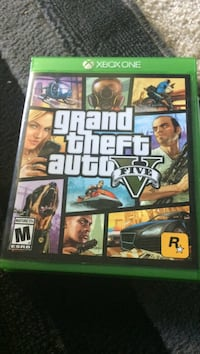 Xbox One Grand Theft Auto V case Sacramento, 95831