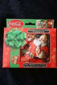 2002 Coca Cola Santa Playing Cards Mississauga, L4Z 1W3