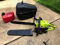 Gas Chainsaw with Case, Cover, and Tank Fairfax