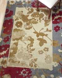 Brand new 5'X7' Transitional Floral Border Multi RUG Kennesaw, 30152