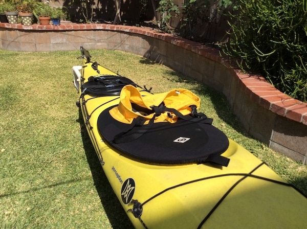 Kayak Perception Sole 14' in great condition  In door stored  Tour kayak   With some extra parts