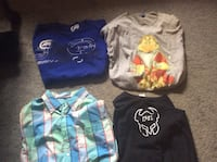 Assorted shirts all large 10 for all  250 mi