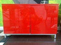 Red cabinet or tv stand or??? Richmond, V7A 1W8