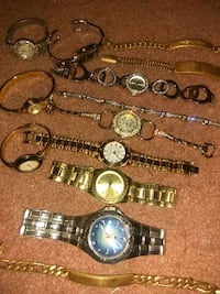 Watch and bracelet collection