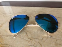 Ray Ban Aviators (blue mirrored) Central Okanagan, V4T 1N8