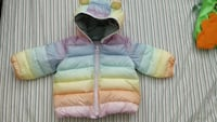baby's colorful winter jacket (new without tag) Burnaby, V3N 0B4