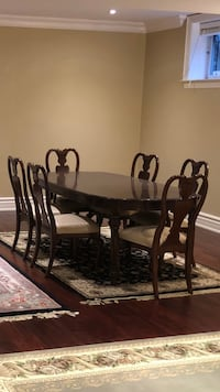 Dining Table and 6 Chairs Set