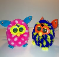 Furby Boom 2012 Choice Of Hot Pink With White Polka Dots Or Purple With Yellow Lightning Bolts London