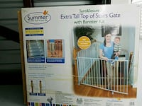Tall top stairs gate in great condition  Spring, 77382