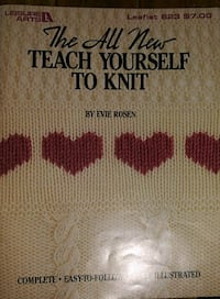 Teach yourself to knit paperback
