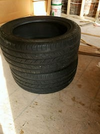 255 45 18 Continental Pro Contact tires 52 km