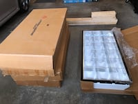 2'x4' Recessed Fluorescent Fixtures (bulbs not included) 5 available all new in box $25 each Waukee, 50263