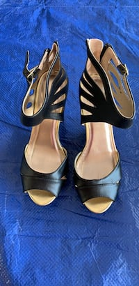 Charlotte Russe high wedge shoes open toe black new Henderson, 89074
