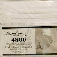 white and black mattress with box Toronto, M1L 2T6