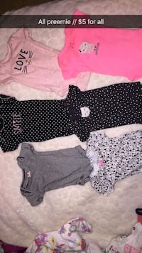 girl's assorted clothes Palmhurst, 78573