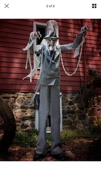 7ft chained ghost Halloween prop Albion, 46701
